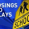 School delays and closures