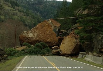 Oregon Gas Prices >> Massive rock slide in rural Douglas County – KOBI-TV NBC5 ...