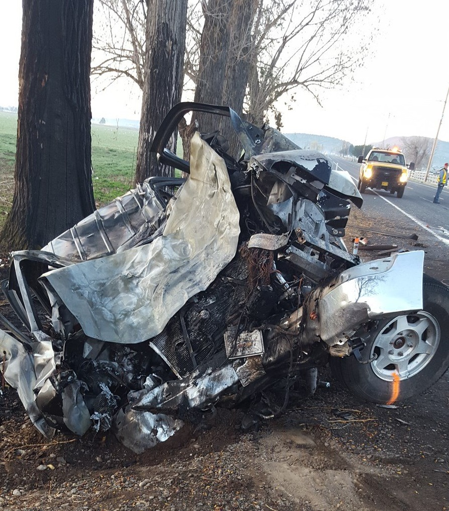 Woman Dies In A Car Accident Oregon