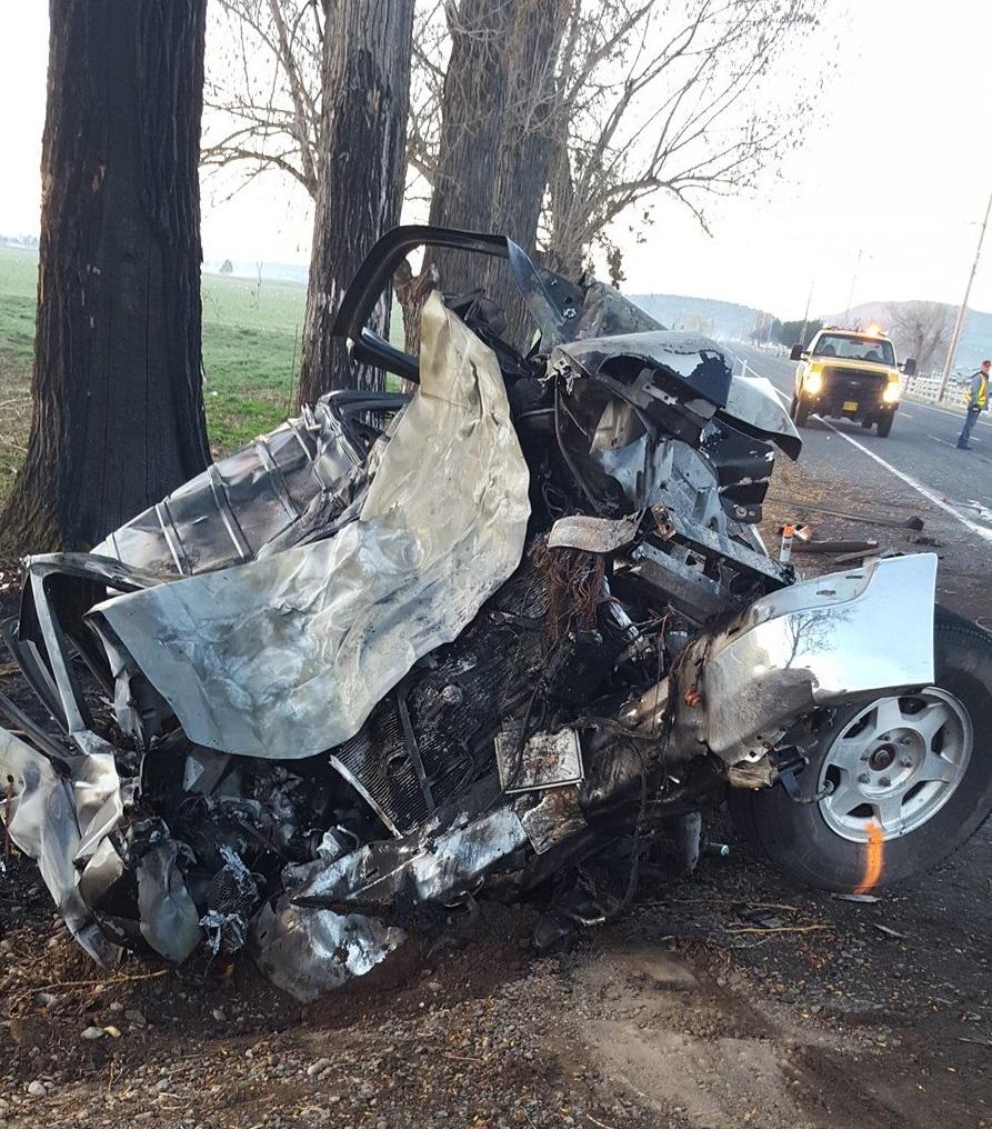 Grants Pass Woman Dies Following Crash On I5