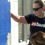 US Bank employees giving back to the community