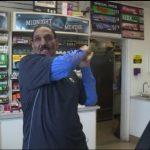 Golf club threat stops California gas station robbery