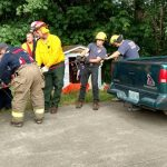 Grants Pass woman rescued from well