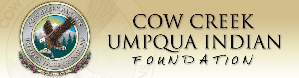 Sponsored by Cow Creek Umpqua tribe of Indians