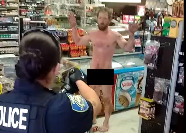 Naked man arrested following disturbance in Klamath Falls