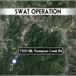 SWAT operation in rural Jackson County