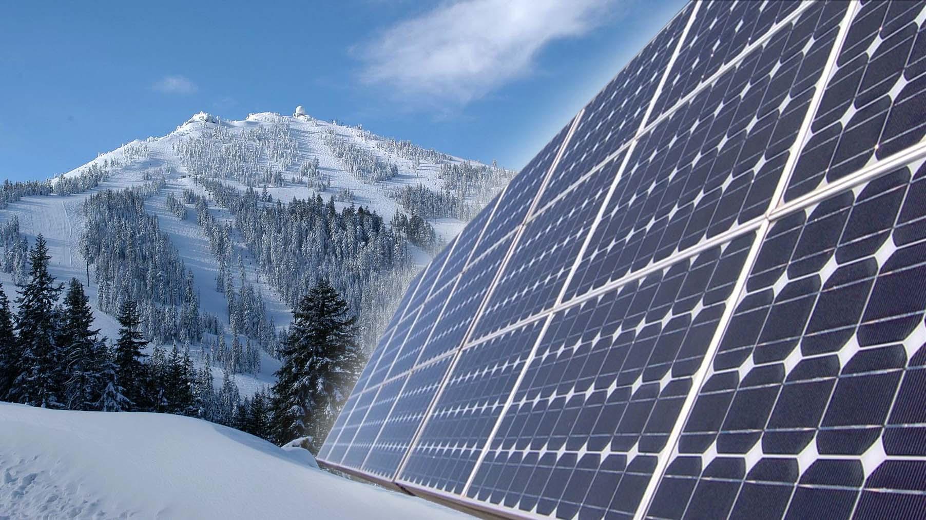 Mt Ashland Installing Solar Panels Kobi Tv Nbc5 Koti