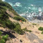 Man rescued from ocean-side cliff