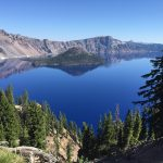 Composition inspired by Crater Lake performed at the national park