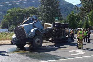 0803 Semi Truck crash