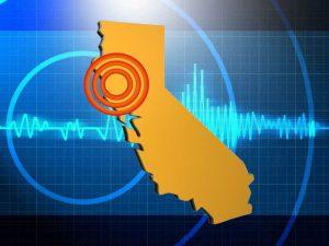 0810 N California earthquake