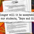 No boys, no girls, just students?