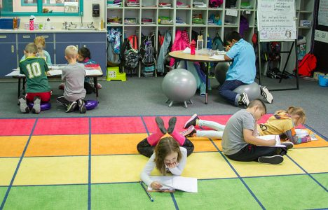 Washington Classroom Offering Students Flexible Seating