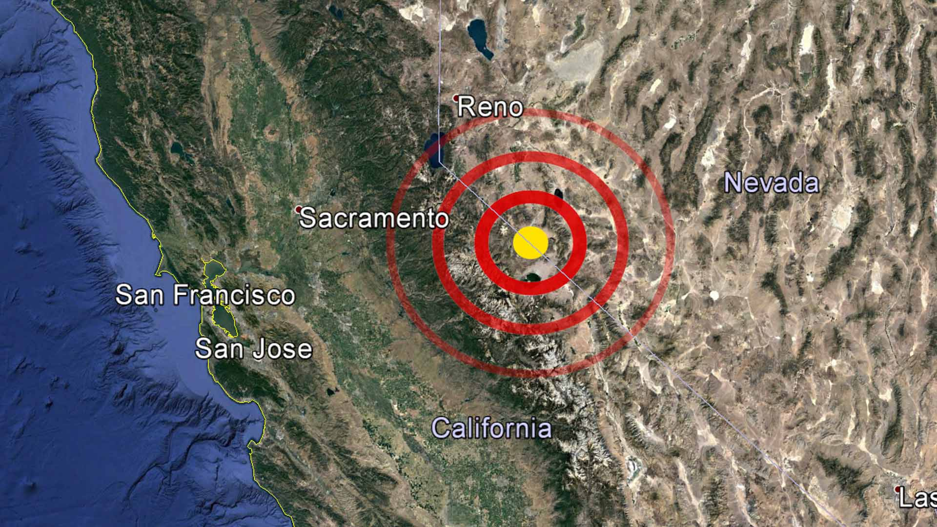 hawthorne nevada a series of earthquakes shook along the california nevada border near hawthorne nevada early wednesday morning according to the u s