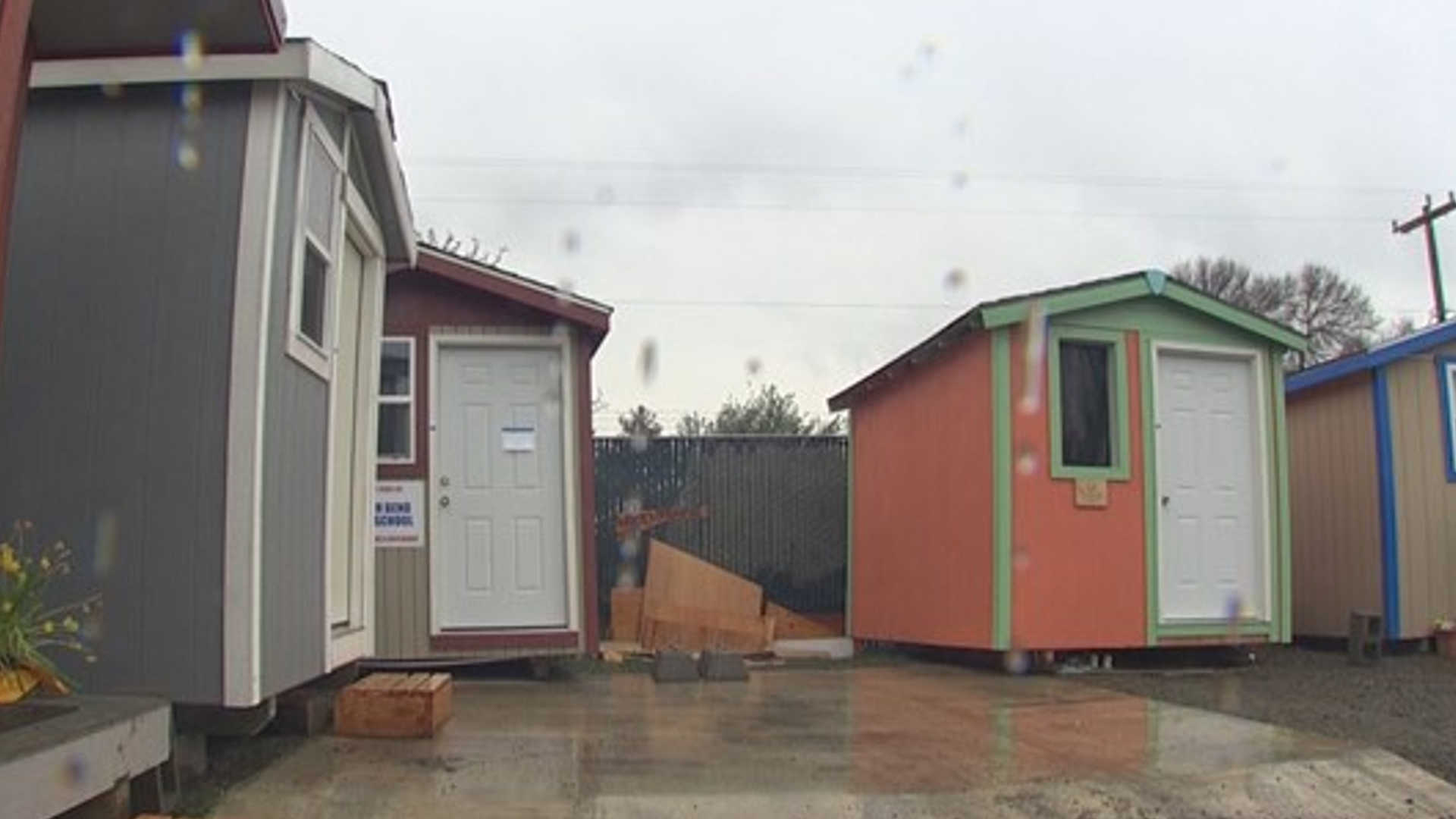 Photos Tiny House Seattle Wa: Drugs, Alcohol Allowed At Seattle Village For The Homeless