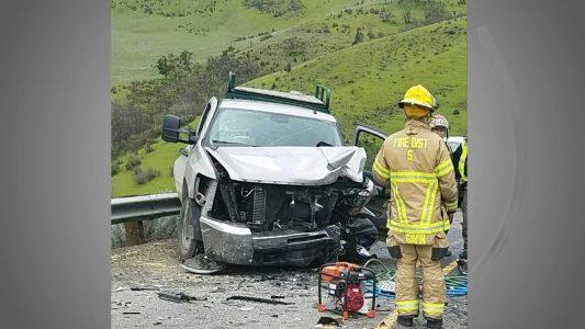 Car Crash Ashland Oregon