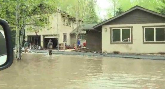 Melting Snow Causes Flooding In Parts Of Idaho Kobi Tv