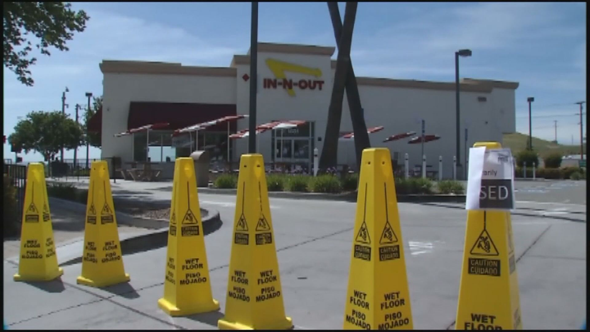 California In-N-Out Burger closed due to health concnerns – KOBI ...