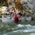 Three teens rescued from northern California river