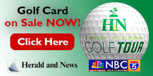 Golf Cards on sale now! Herald and News Golf Tour!