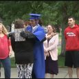 Despite controversy, hundreds turn out for Caleb Maler's graduation