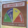 Fire danger lowered on ODF land in Jackson & Josephine Counties