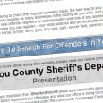 Siskiyou County Sheriff's Office launches online sex offender search