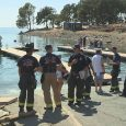 Five kids burned in California boat fire