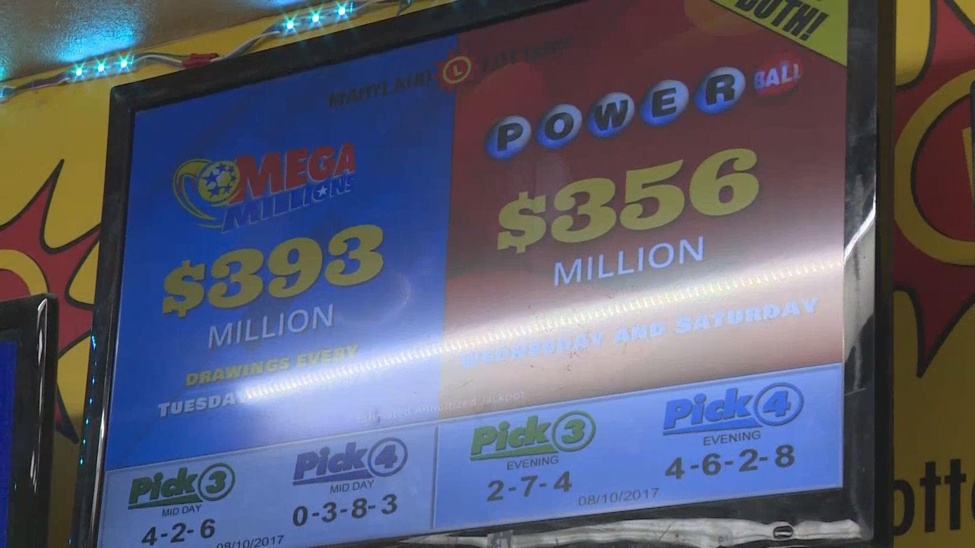 Mega Million, Powerball topping $300 million each - KOBI ...