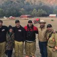 Local firefighters work to protect California homes