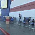 Shoppers Line Up for Holiday Deals