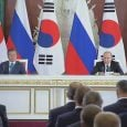 Leaders of Russia, South Korea: situation on Korean peninsula improving
