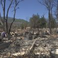 Hornbrook family loses everything