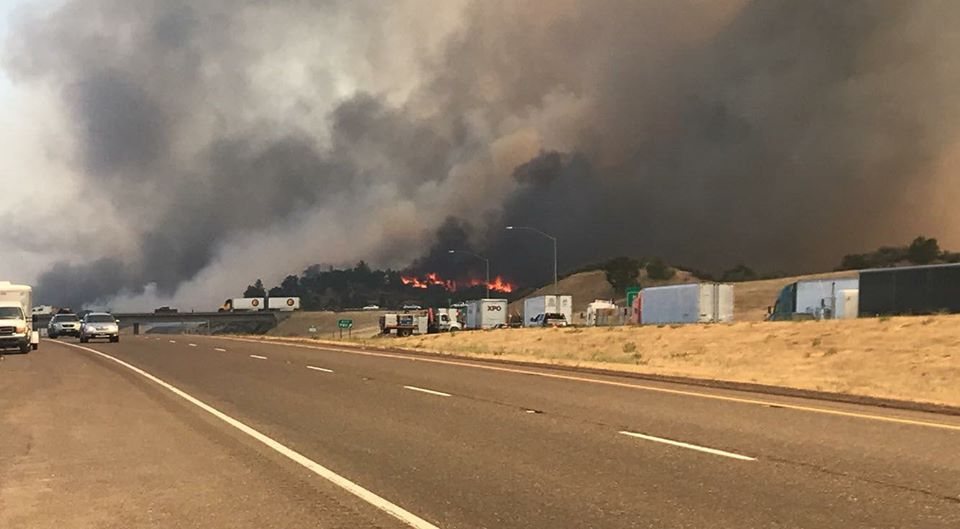 One Person Killed In Klamathon Fire Cal Fire Reports Kobi Tv Nbc5