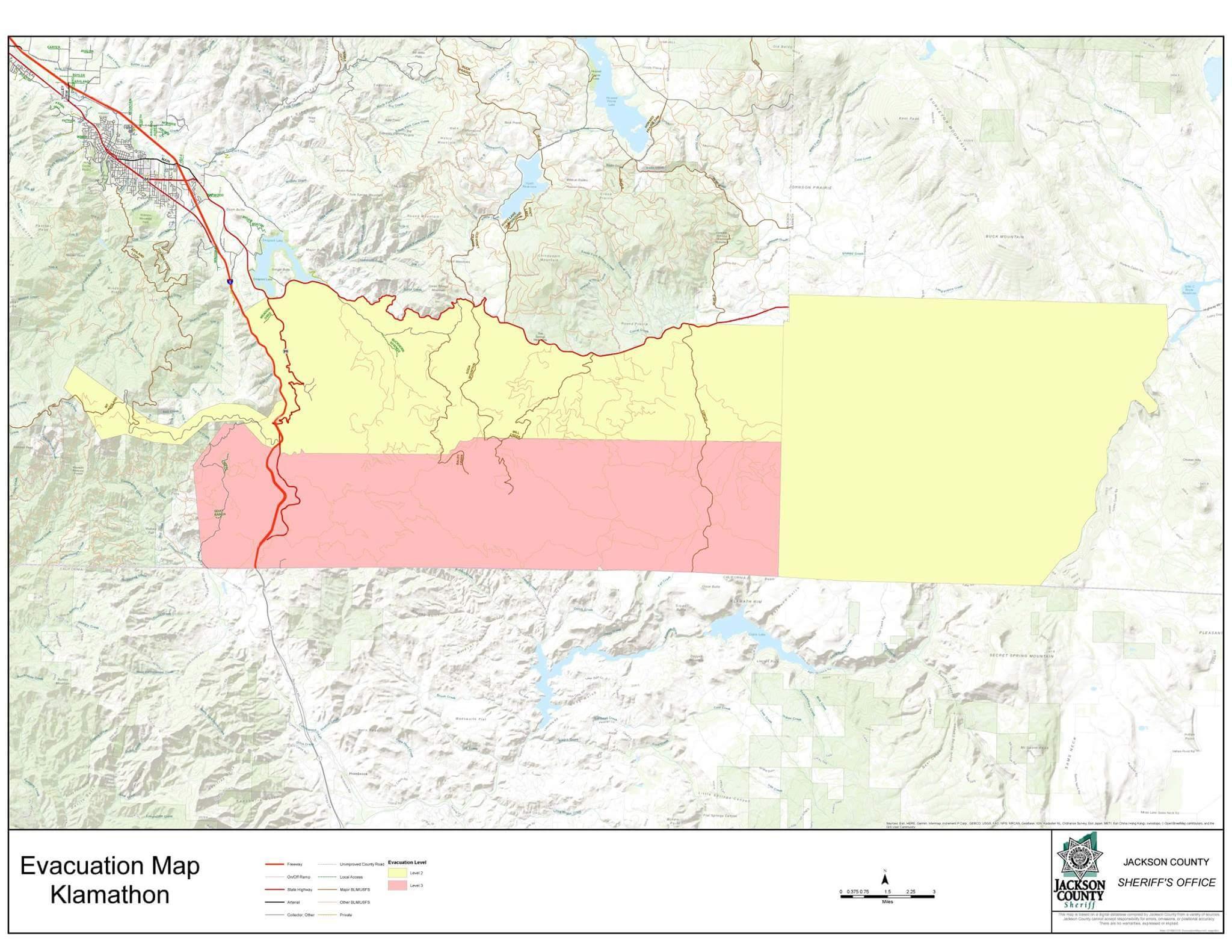 Update Klamathon Fire Evacuation Levels Kobi Tv Nbc5 Koti Tv Nbc2