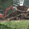 Demolition begins on old Bear Creek Park playground