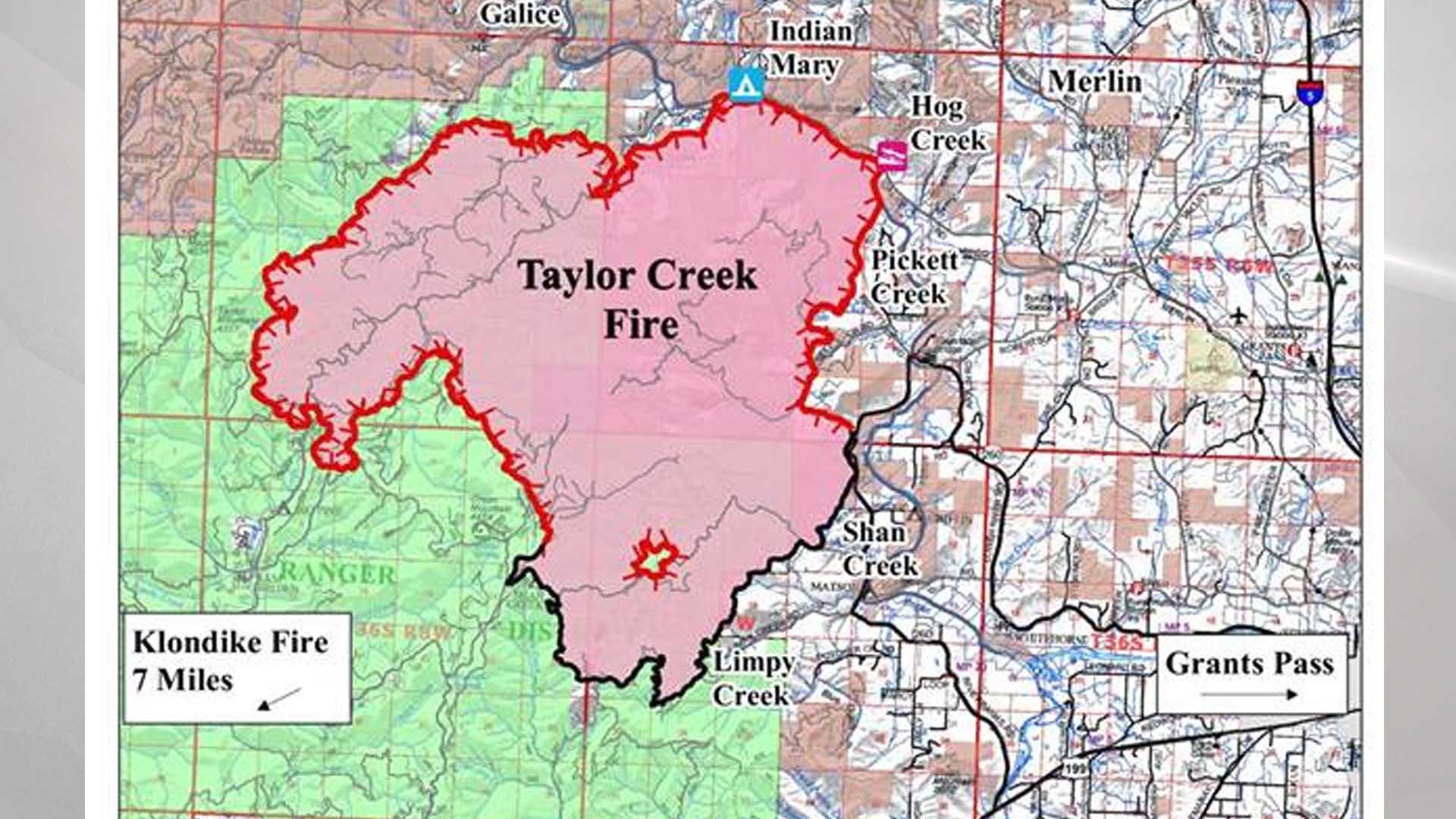 Taylor Creek Fire Update For August 2 Kobi Tv Nbc5 Koti Tv Nbc2