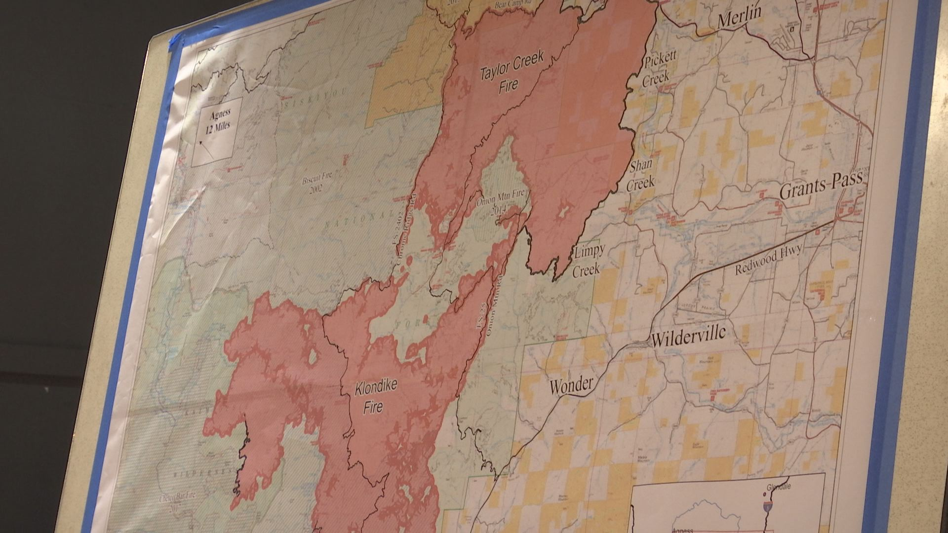 New Command For Klondike And Taylor Creek Fires Kobi Tv Nbc5