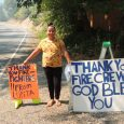 Firefighters return gratitude to young supporter