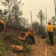 Miles fire 4 percent contained