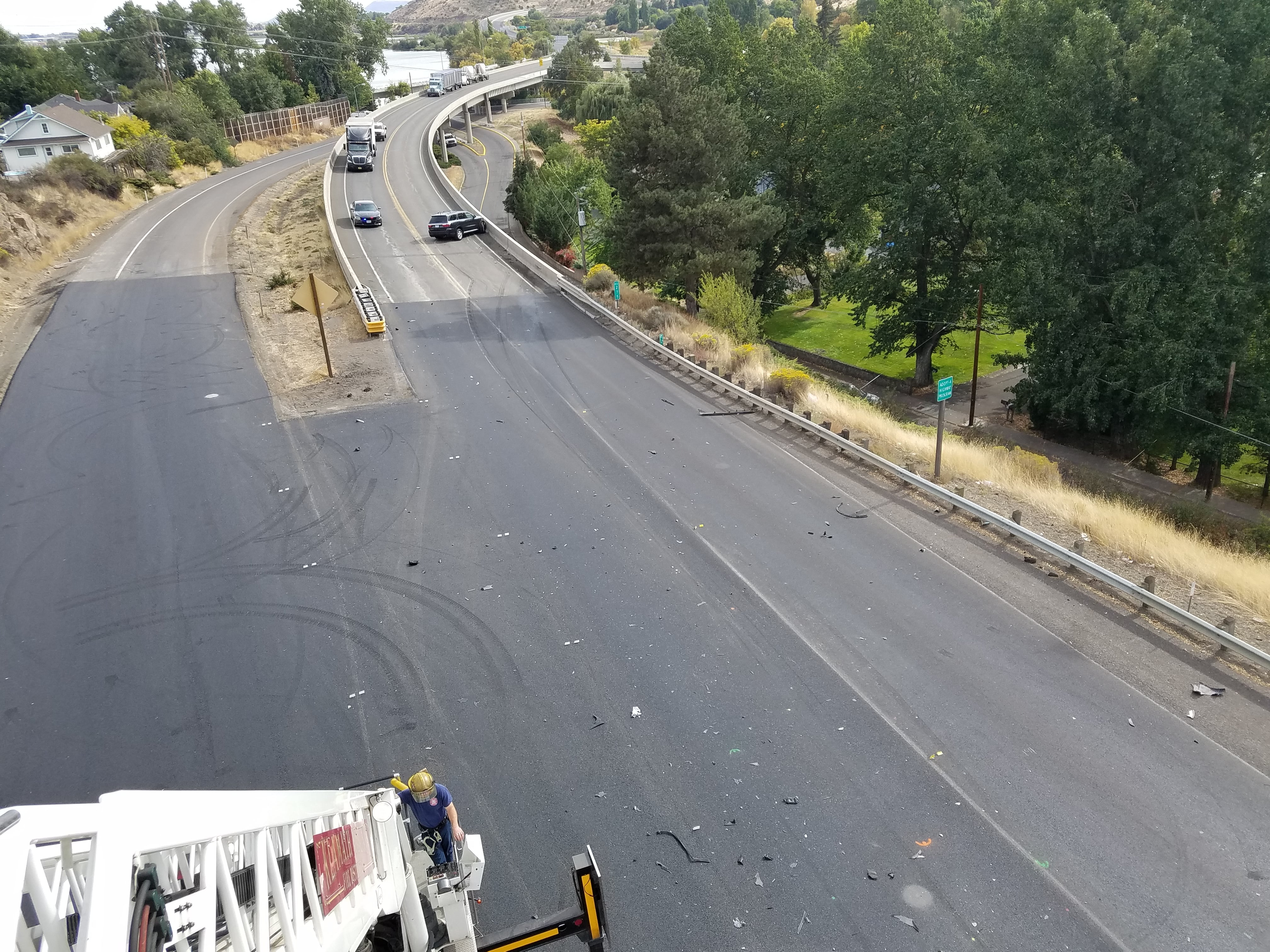 Klamath Falls woman dies in crash, distracted driving a