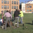Klamath Union High School students plant trees
