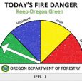 "Fire danger ""low"" on ODF-protected lands"