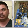 Felon found with over 10 pounds of meth, 28 firearms in Grants Pass