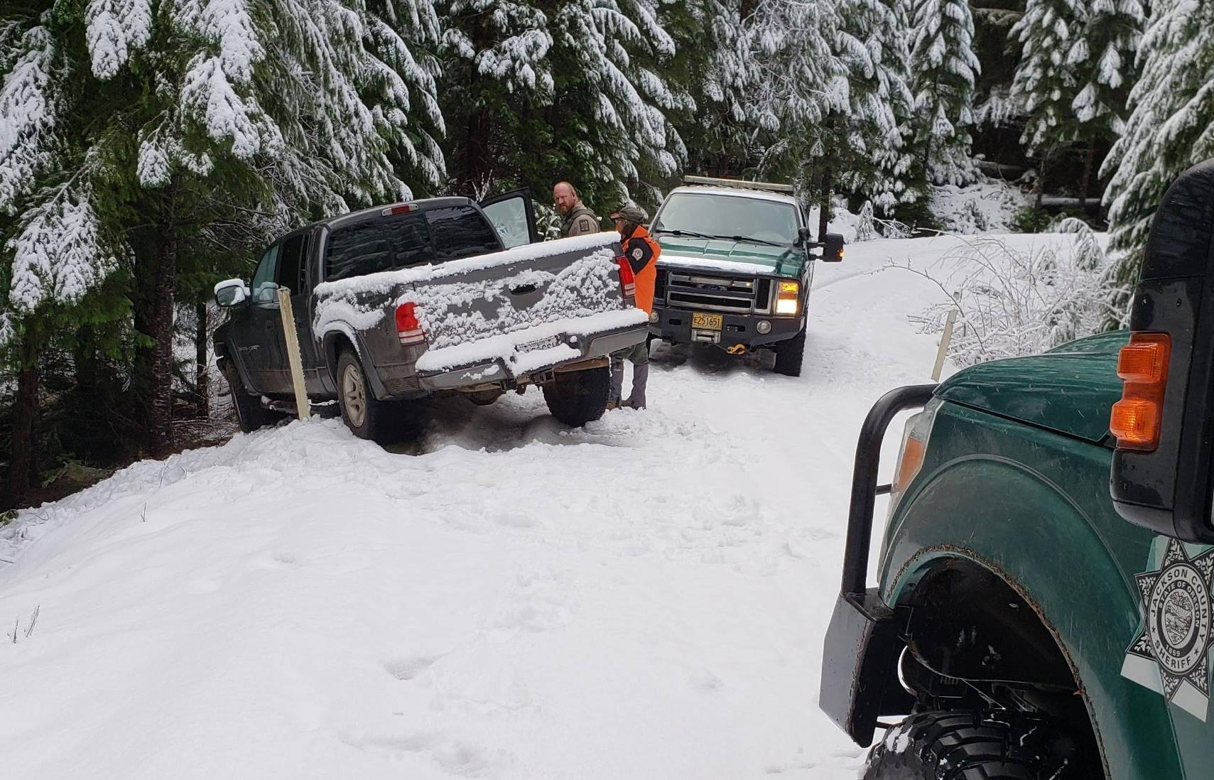 Overdue Hunters Rescued By Jackson County Search And