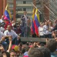 Venezuela's opposition party leader declares himself interim president