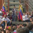 Venezuela's opposition party leader declares himself interim president