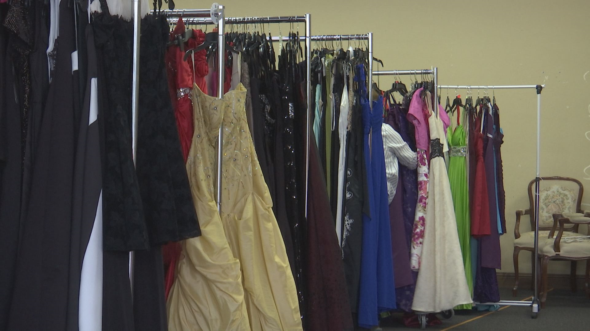 8d6d64bcf93 A local organization is giving out hundreds of free prom dresses this  weekend to local high school students.