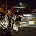 OSP Trooper rear-ended by DUII driver early Saturday morning