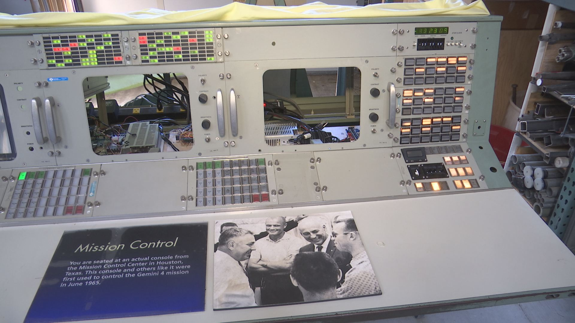 Local Museum Restores Nasa Device Used In Space Missions